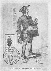 The 17th century French postman